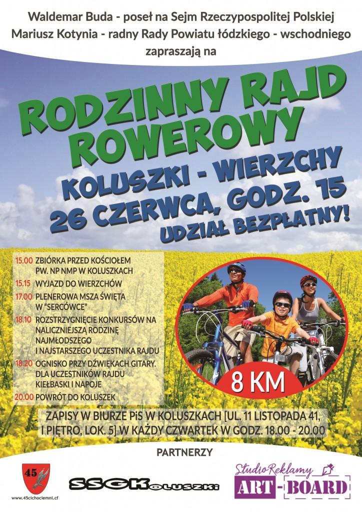 1rodzinnyrajdrowerowy_plakat