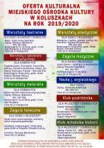 MOK przedstawił ofertę dla dzieci, młodzieży i dorosłych
