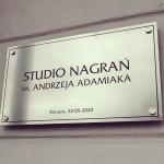 Andrzej Adamiak patronem studia nagrań w Koluszkach