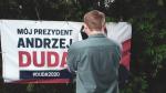 Kto niszczy banery Andrzeja Dudy w Koluszkach?