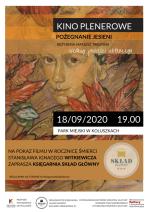 """""""Pożegnanie jesieni"""". Kino plenerowe w Parku Miejskim"""